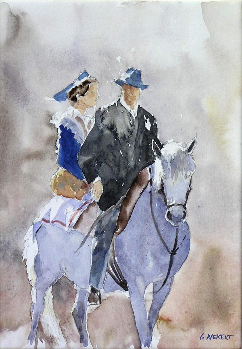 Arlesienne et Gardian