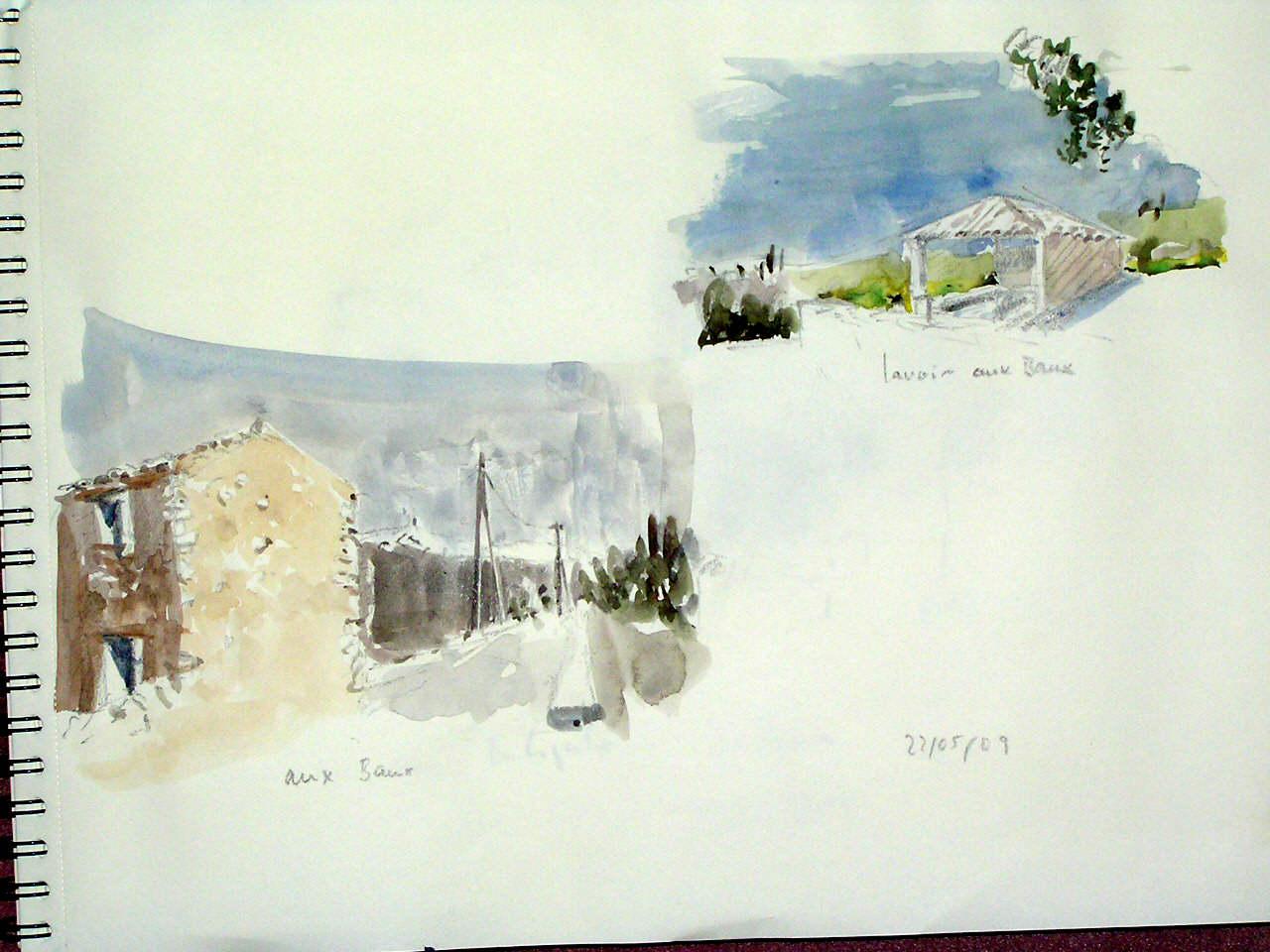 hamlet Les Baux