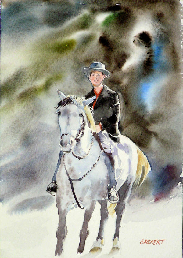jeune gardian à cheval